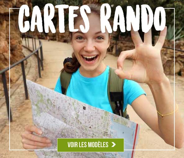 cartes de hiking