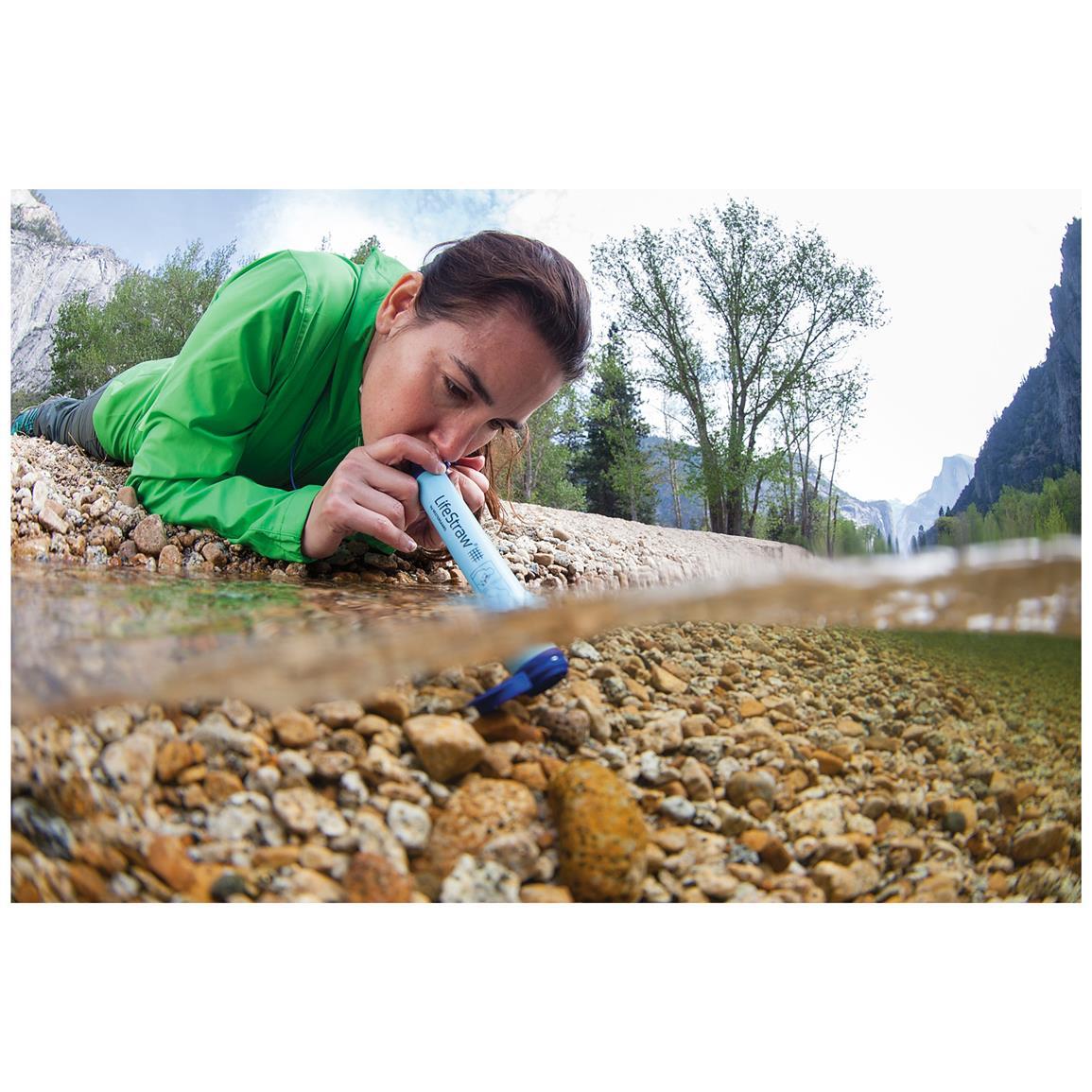 purificateur d'eau lifestraw randonnée paille filtrante, purification d'eau
