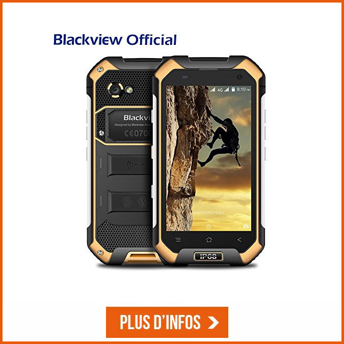blackview a8 max telephone smartphone trekking